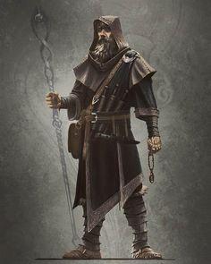 © Ray Lederer, Skyrim concept art of male mage robes. ____ #skyrim #elderscrolls #mage #wizard #magic #dark #fantasy #fantasyart #art #artoftheday #artoftheday #instaart #instagood #wow #omg #illustration #conceptart #characterdesign #videogame #warrior #medieval #raylederer #best #epic #hero #old