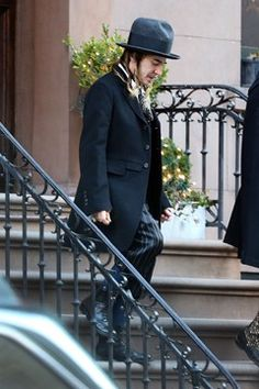 Despite Oscar De La Renta wiping away John Galliano's anti-Semitic rants of yesteryear clean, this fashionable savant couldn't resist another off the cuff jab as he worked double time at New York Fashion Week to promote the latest craze, Hasidic Chic. This guy is sick. #truth
