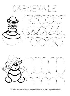 Clown Party, Le Clown, Carnival Themes, Pre Writing, Pre School, Kindergarten, Snoopy, Kids Rugs, Activities