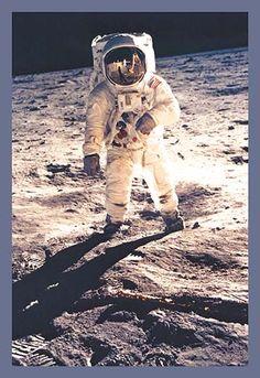 Apollo 11: Man on the Moon by NASA - Art Print