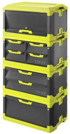 Ryobi Modular Tool Box Combo: