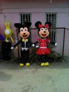 Piñata mickey y mimy mouse