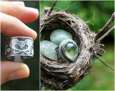 Healer Ring, sterling silver and prehnite by UmberDove #stonemedicine #bones