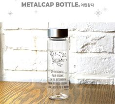 The little Prince Metalcap Bottle Collection Gift Present BPA Free ECO Material