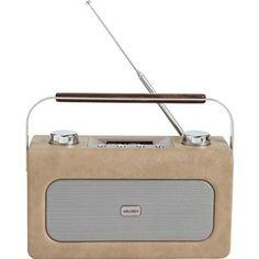 Bush Leather Retro DAB Portable Radio