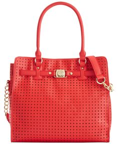 We're going rouge —a bold pop of color always makes a fashion statement, Marc Fisher