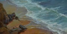 """Coastal Atmosphere"" by Tonya Zenin @ VirtualGallery.com"