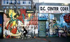 Calles de Brooklyn, que antaño albergaban almacenes portuarios y ahora son lofts de diseño