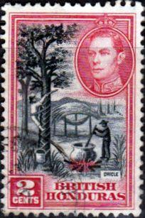 British Honduras 1938 SG 151 Chicle Tapping Fine Used SG 151 Scott 116 More British Commonwealth Stamps here