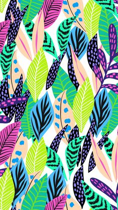 Pattern Floral pattern by Minakani # minakani # fokflower Pattern Floral pattern by Minakani # minakani # fokflower Surface Pattern Design, Pattern Art, Print Patterns, Cellphone Wallpaper, Iphone Wallpaper, Cute Wallpapers, Wallpaper Backgrounds, Bright Wallpaper, Poster Photo
