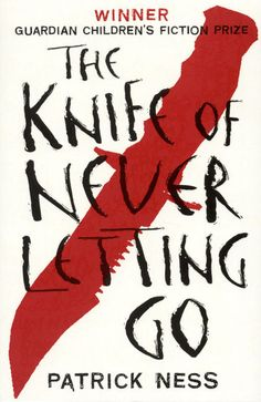 The Knife of Never Letting Go By Patrick Ness. Must buy the second book soon :)