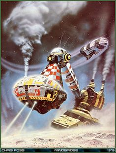 Astrona Chris Foss Illustrations And Sci Fi Art