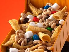 Party Snack Mix. Looks like kids would love it!