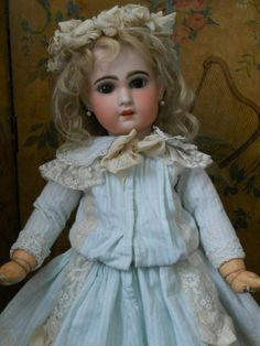 ~~~On HOLD for S. /  Very Beautiful French Bisque Jumeau Size 10 ~~~