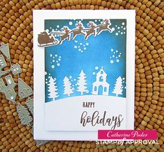 Winterhaven Stamp of Approval Preview Day 2: Here We Come A-Caroling – Catherine Pooler Designs