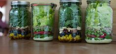 Crunch-crunch: A week of (make ahead) spring salads in jars