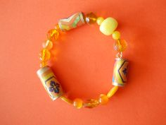 Small Sunshine and Shadows Wrapped Bracelet