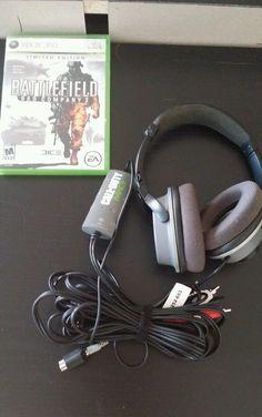 Turtle Beach MW3 EarForce FOXTROT Black/Gray Headband Headsets #TurtleBeach