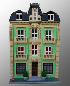 Lego Residential House by papercla @ Eurobricks Forums