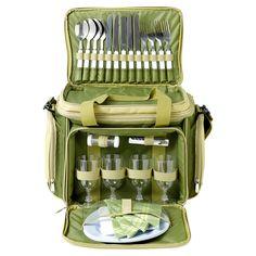 Bolsa nevera picnic verde
