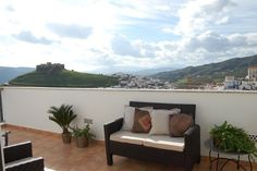 Álora apartment rental - Views from Main Bedroom
