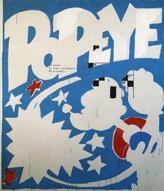 Popeye - Andy Warhol, 1961