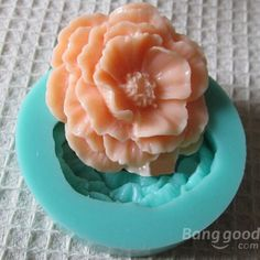 3D Mini Peony Fondant Mold Silicone Cake Chocolate Moulds