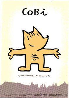 Barcelona´92 – Cobi mascot