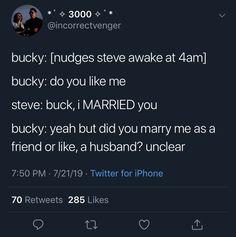 Avengers Memes, Marvel Jokes, Marvel Avengers, Captin America, Captain America Winter, Steve Rogers Bucky Barnes, Bucky And Steve, Marvel Actors, Marvel Characters
