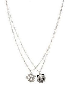 I found 'Panda Paw BFF Necklace Set - 194155' on Wish, check it out!