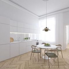 Creative architectural and interior design studio based in Helsinki. Interior Design Studio, Kitchen Lighting, Kitchen Design, Architecture, Furniture, Helsinki, Home Decor, Classroom, Design Interiors