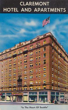 Claremont Hotel and Apartments - Seattle, Washington