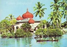 """""""Taluksangay Mosque"""" Postcard / Architecture  Mosque in Taluksangay Zamboanga City. How Serene. How Peaceful. Back in the 1960's"""
