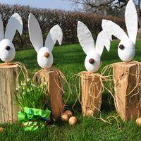 Ostern steht bald vor der Tür, da wird es Zeit für die passende Dekoration in Haus und Garten. Wir zeigen Ihnen wie Sie einen flotten Osterhasen...
