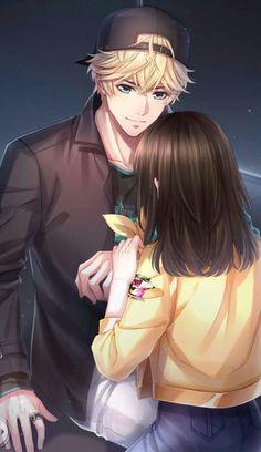 Love and Producer Couple Anime Manga, Anime Cupples, Anime Love Couple, Hot Anime, Cute Anime Boy, Anime Art Girl, Anime Boys, Anime Couple Romantique, Desenhos Love