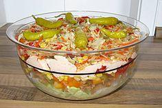 Daphnes schlanker Gyros - Schichtsalat