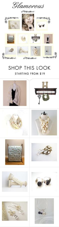 """Glamorous"" by therusticpelican ❤ liked on Polyvore featuring modern, contemporary, rustic and vintage"