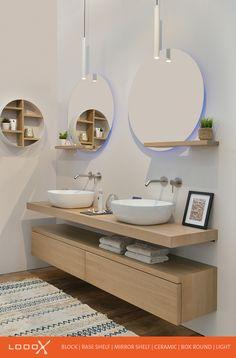 Bathroom Inspiration, Bathroom Vanity, Bathroom Interior, Vanity, Bathrooms Remodel, Home Remodeling, Bathroom Decor, Contemporary Bedroom, Bathroom Design