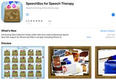‎SpeechBox for Speech Therapy Data Collection, Mac Os, Whats New, Speech Therapy, Ipod Touch, Ipad, Iphone, History, Learning