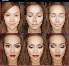 Steps for contouring