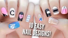 Back To School season is just beginning! Here are 10 easy, simple, and sophisticated DIY nail art designs that you can rock on your first week back…