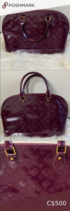 Glossy Purple handbag purse Louis Vuitton Reposhing this item I purchased have another I reach for More Price reflects Purple Louis Vuitton Comes with box Make me an offer! Louis Vuitton Bags Louis Vuitton Emilie Wallet, Louis Vuitton Speedy 30, Louis Vuitton Neverfull Mm, Purple Handbags, Purple Purse, Jimmy Choo Sunglasses, Canvas Shoulder Bag, Vintage Louis Vuitton, Pink Leather