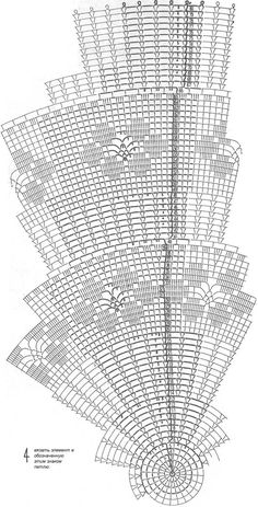 Большая салфетка с цветочными вставками в филейной технике, связанная крючком