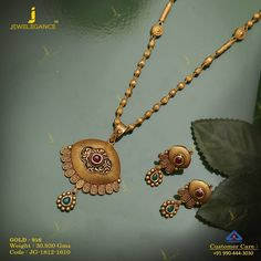 Get In Touch With us on Gold Necklace Simple, Gold Jewelry Simple, Gold Jewellery, Pearl Jewelry, Jewelery, Indian Bridal Jewelry Sets, Indian Jewelry, Aztec Jewelry, Antique Jewellery Designs