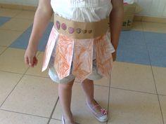 Las manualidades de mis niños: somos romanos: nuestro cinturon