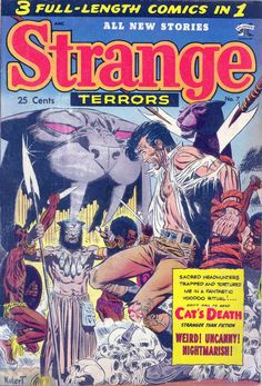 Comic Book Cover For Strange Terrors v1 #7