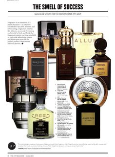 The City Magazine October 2014 Top Fragrances For Men, Best Perfume For Men, Best Fragrance For Men, Top Perfumes, Best Fragrances, Aftershave, Best Mens Cologne, Der Gentleman, Perfume Oils