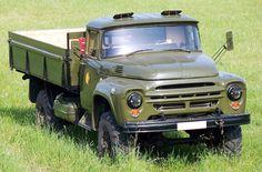 ЗиЛ-130 4х4, бортовой