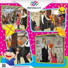 #DarıcaParkAVM 3. katta gerçekleşen 19-20 Kasım etkinliklerinde ziyaretçilerimiz eğlenceli dakikalar geçirdi. Diğer etkinlik fotoğraflarını da aşağıdaki linkten inceleyebilirsiniz. http://www.daricaparkavm.com/galeri