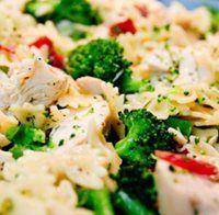 Broccoli Chicken Bow Tie Pasta